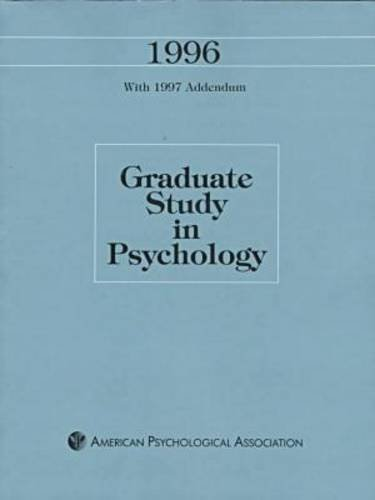 graduate-study-in-psychology-1996-with-1997-addendum-issn-0742-7220