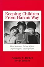 Keeping children from harm's way : how…