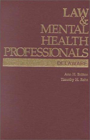 law-mental-health-professionals-delaware-law-mental-health-professionals-series