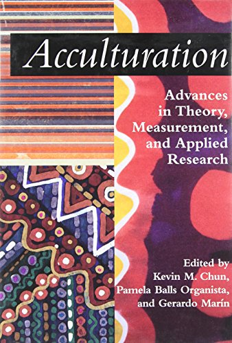 acculturation-advances-in-theory-measurement-and-applied-research-decade-of-behavior