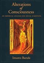Alterations of Consciousness: An Empirical…