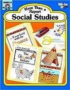 Social Studies More Than a Report