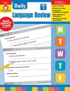 Daily Language Review, Grade 1 by Evan-Moor…