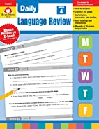 Daily Language Review, Grade 4 by Evan-Moor…