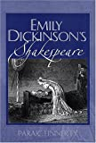 Paraic Finnerty: Emily Dickinson's Shakespeare