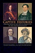 Captive Histories: English, French, And…