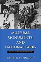 Museums, Monuments, and National Parks:…