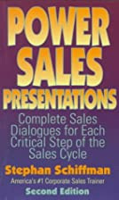 Power Sales Presentations: Complete Sales…
