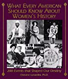 Lunardini, Christine: What Every American Should Know About Women's History: 200 Events That Shaped Our Destiny