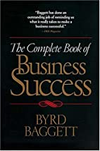 The Complete Book of Business Success by…