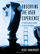 Observing the User Experience: A…