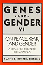 On Peace, War, and Gender: A Challenge to…