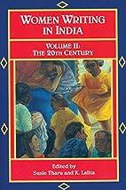 The Twentieth Century by Susie Tharu
