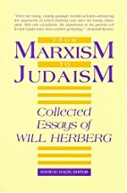 From Marxism to Judaism by Will Herberg