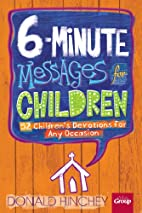 6-Minute Messages for Children by Donald…