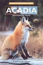 Acadia National Park: Wildlife Watcher's…