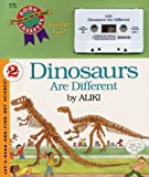 Aliki: Dinosaurs Are Different Book and Tape (Let's-Read-and-Find-Out Science 2)