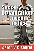 The Social Organization of Juvenile Justice…