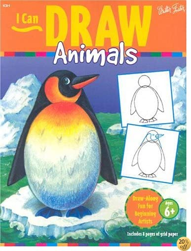I Can Draw Animals: Draw-Along Fun for Beginning Artists