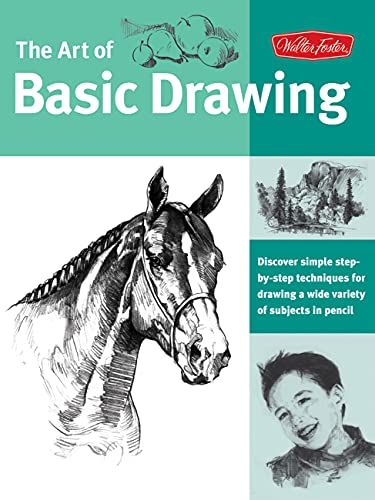 art-of-basic-drawing-discover-simple-step-by-step-techniques-for-drawing-a-wide-variety-of-subjects-in-pencil-collectors-series
