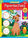Walter Foster: Favorite Pets: A Step-by-step Drawing & Story Book