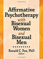 Affirmative Psychotherapy With Bisexual…
