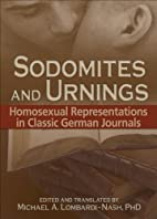 Sodomites and Urnings: Homosexual…