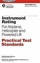 Instrument Rating Practical Test Standards…