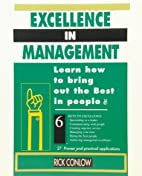 Excellence in Management: Learn How to Bring…