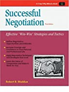 Successful Negotiation (50-Minute Series) by…