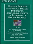 Graduate Programs in the Physical Sciences,…