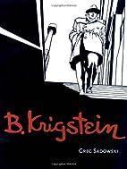 B. Krigstein, Volume 1 by Greg Sadowski