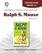 Teacher's Guide for Ralph S. Mouse by Novel…