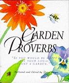 Garden Proverbs (Running Press Miniature…