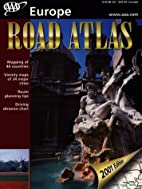 AAA Road Atlas Europe (2001) by AAA
