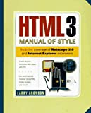 Aronson, Larry: Html3 Manual of Style