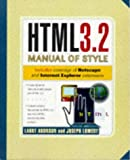 Aronson, Larry: Html 3.2 Manual of Style
