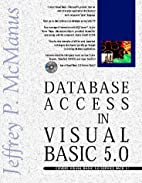 Database Access with Visual Basic 5 by…
