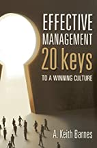 Effective management : 20 keys to a winning…