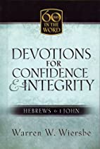 Devotions for Confidence & Integrity:…
