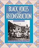 John David Smith: Black Voices/Reconstruction