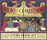 Croll, Carolyn: The Story of Christmas Story Book Set & Advent Calendar