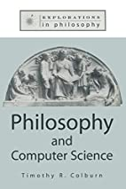 Philosophy and Computer Science…