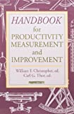 Christopher, William F.: Handbook for Productivity Measurement and Improvement