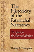 The historicity of the patriarchal…