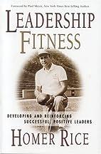 Leadership Fitness: Developing & Reinforcing…