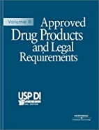 USP DI 2004: Approved Drug Products & Legal…