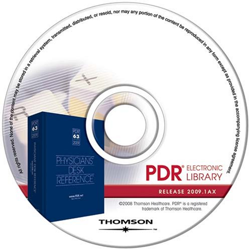 physicians-desk-reference-electronic-library-pdr-2009