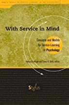 With Service In Mind: Concepts and Models…