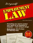 Goldstein, Valerie Hope: The E-Z Legal Guide to Employment Law